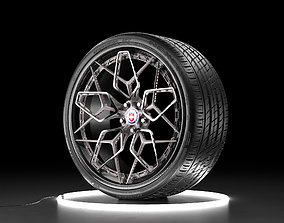 realtime Car wheel NEXEN NFERA SU1 tire with HRE HRE3D rim