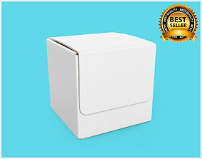 3D model container Package Box