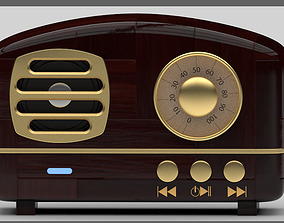 3D Bluetooth gold speaker