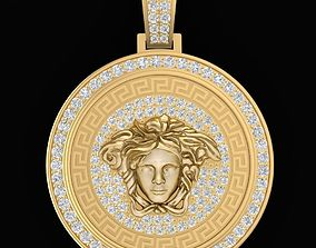 278 Luxury Diamond Versace Pendant 3D printable model
