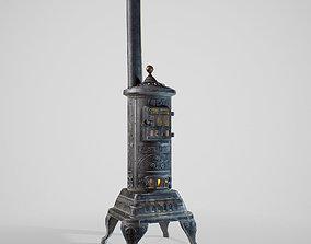 3D asset PBR Heating Stove
