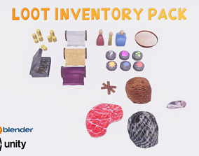 Loot Inventory Pack 3D model