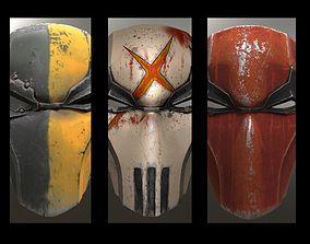Deathstroke Injustice Helmet 3D print model