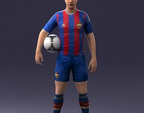 Football player 0510 3D Print Ready