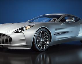 3D car Aston Martin One-77
