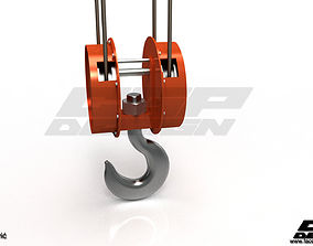 CGPdesign academyCrane hook- design by Almir 3D model