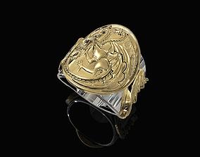 3D print model Targaryen Ring-Game of Thrones
