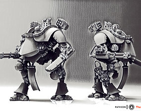 3D print model Feudal Guard Walker