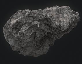 Meteor Asteroid Rock 4K asteroid 3D