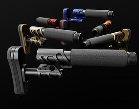 Odin Works Zulu 2 Adjustable AR15 3D asset