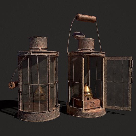 WW1 Lantern