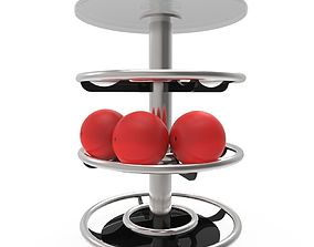 Bowling Table pins 3D