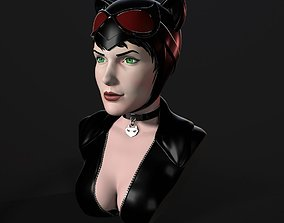 3D printable model Bust - Catwoman