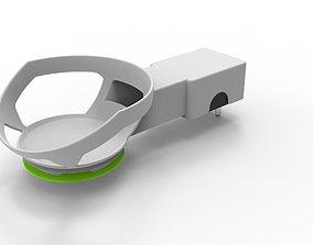 3D echoe dot wall mount holder