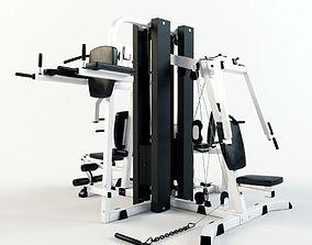 Multi Gym Machine 3D