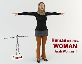 3D model Arab Woman 1