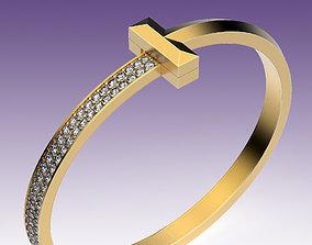 3D print model Bracelet T Wide