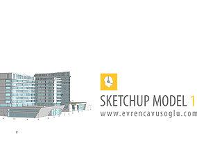 3D model University Building