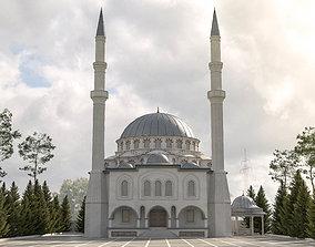 realtime mosque 3d model 3dmodel