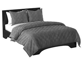Bed and Duvet Pillow set 3D model