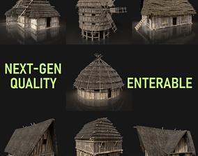 Next Gen AAA Medieval Village Collection - 7 3D asset 2