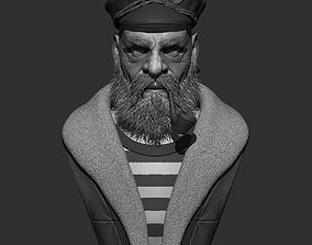 3D model captain Captain