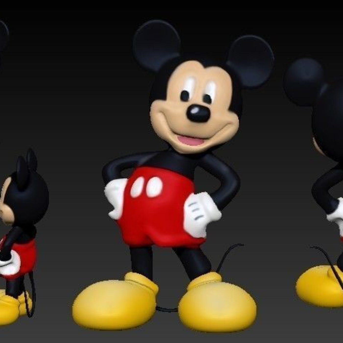 Mickey Mouse - Participant of CGTrader Awards