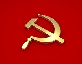 Communism Symbol 3D model