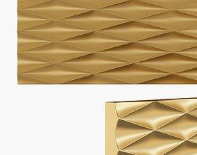 Wall 3D panel wood