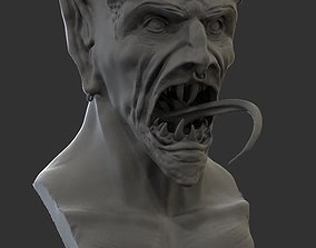 3D print model Demon Head