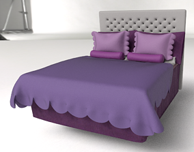 Bed Molly 3D highpoly Model