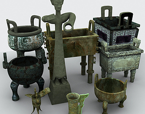 3D Chinese Bronze