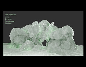 Ice Cave 3D model realtime