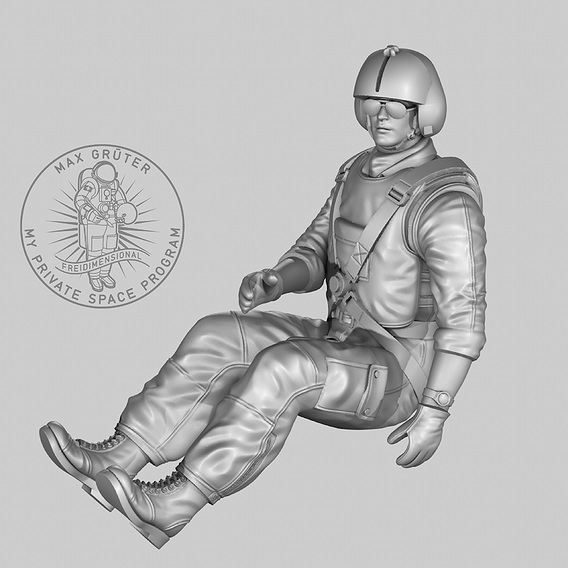Printable Helicopter Pilot