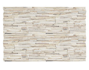 3D model Wood Fragments Wall Panel