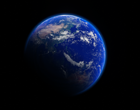 3D EEVEE - EARTH PHOTOREALISTIC 6K