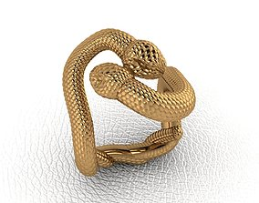 Royal Animal Style Ring 3D printable model