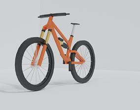 Mountain bike 3D model realtime