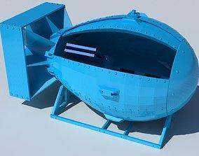 3D print model Atomic flash drive holder