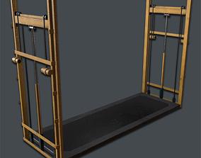 Hydraulic Lift PBR VR 3D model