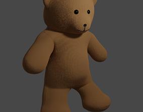 3D model Fabric Teddy bear