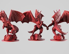 Dragon dragon monster 3D printable model