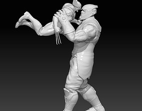 Thanos vs Wolverine 3D print model
