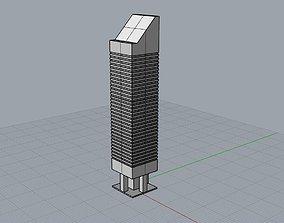 Citigroup Center 601 Lexinton 3D print model