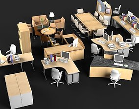 Office Furniture 2 furniture furniture-set 3D