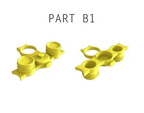 3D printable model Recycled Bottle Roof Builder