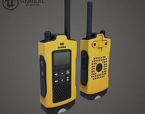 3D model Radio scanner