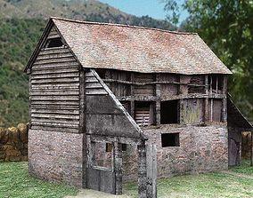 3D model Derelict Barn II