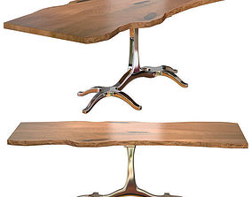 3D Slab Dining Table