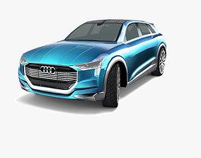 Audi e-tron quattro Concept 2015 3D asset VR / AR ready